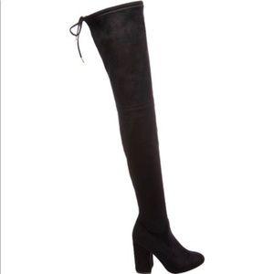 87f1df33b3ae Steve Madden Shoes   Black Thighhigh Boots   Poshmark